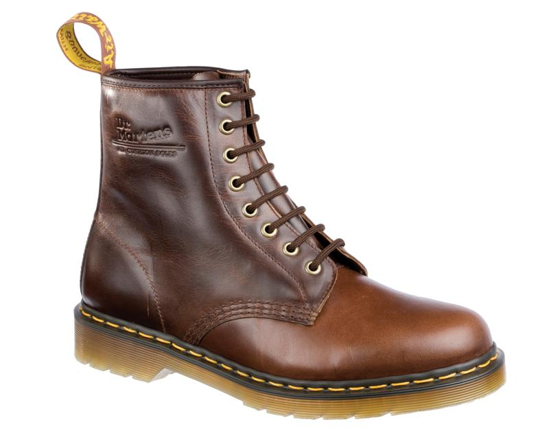 8 Eyelet Boots With Zenith Soft Leather Uppers