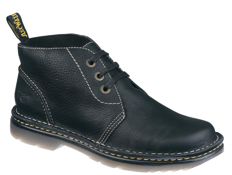 Dr Martens 3 Eyelet Shoe Boot - Click Image to Close