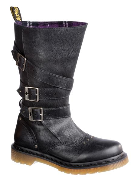 Jara Black Mirage High Boots