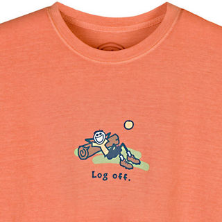 Log Off T-shirt by Life is Good